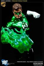 SIDESHOW GREEN LANTERN PREMIUM FORMAT Figure Statue EXCLUSIVE JLA MOVIE Bust