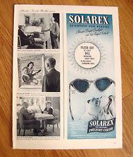 1946 Solarex Sun Glasses Ad Original Twilight Color