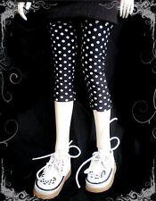 [wamami] 10# White Dots Pants/Stockings 1/4 MSD DODAOD LUTS BJD Dollfie