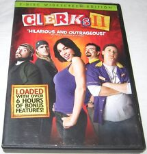 Clerks II DVD, 2006, Widescreen Brian O'Halloran, Jeff Anderson U.S.A