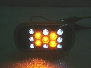 LED Smoked Side Indicators Repeaters for Honda