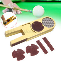 U Billiards Pool Snooker Cue Tip Scuffer Trimmers Burnisher Shaper Repair Tools