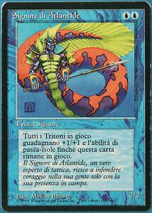 Lord of Atlantis (BB 1994) Revised (ITALIAN) HEAVILY PLD CARD (185794) ABUGames