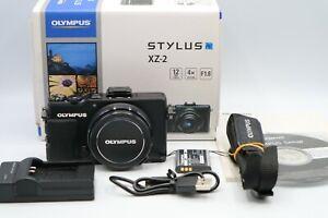 Olympus Stylus XZ-2 12.0MP Digital Camera - Black