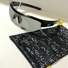 Under Armour UA Igniter Sunglasses Shiny Black Sports Golf 8600020-1500 Running