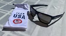 NEW OAKLEY TEAM USA CROSS RANGE, NAVY, WITH IRIDIUM LENSES NO BOX