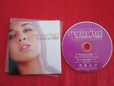 CD SINGLE CHIMENE BADI SI J'AVAIS SU T'AIMER L'AMOUR EXPLORE 2003