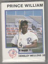 1987 Pro Cards Prince William Yankees  Minor League Team Set  BAM BAM Muelens