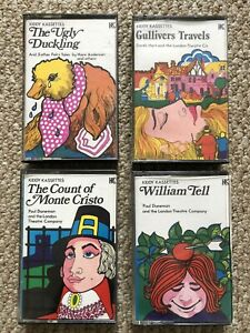 KIDDY KASSETTES STORY CASSETTE TAPES UGLY DUCKLING GULLIVERS TRAVEL WILLIAM TELL