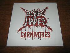 "BOMBS OF HADES ""Canivores"" 7""  miasmal bastard priest undergang"