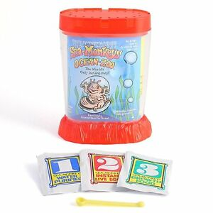 Schylling Sea Monkeys Ocean Zoo - Colors May Vary #290978