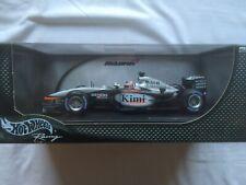 HOTWHEELS Racing 1.18 Scale McLaren MP4-17D Kimi Raikkonen F1 Year 2003