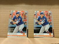 PETE ALONSO 2019 Topps Chrome Rookie Base 2 CARD LOT New York Mets