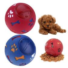 Pet Dog Toys Food Dispenser Play Ball Bone Training Chew Interactive Puzzle H