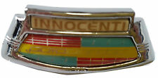 ukscooters LAMBRETTA LI SERIES 2 & 3 CHROME HORNCAST BADGE INNOCENTI GOLDEN
