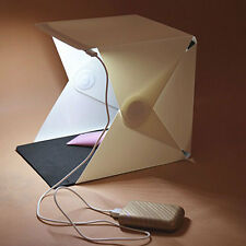 Mini Foldable Camera Photo Studio Photography LED Light Cube Lighting Soft Box