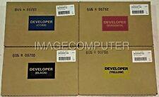Original Xerox DC700 770 550 560 4 color Developer kit CMYK Genuine OEM Sealed