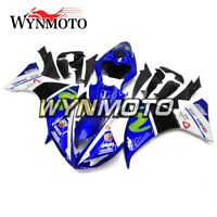 Blue White Cowls For Yamaha 2009 2010 2011 YZF1000 R1 Fairing Kit Plastic Panels