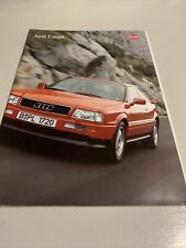 Audi Coupe - Car sales brochure