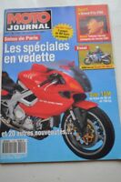 MOTO JOURNAL 1102 Essai Road Test SUZUKI RF 600 R HONDA VFR 750 F Canopy 1993