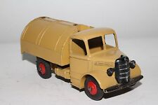 1950's Dinky #252 Bedford Garbage Truck, Tan and Green, Original, #12