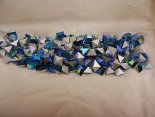 full package,144 swarovski square stones,6mm emerald AB/foiled #4400