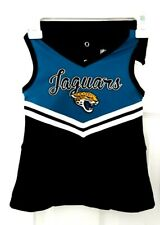 nuevo con etiquetas Chicas Jacksonville Jaguars Cheerleader traje de 2 piezas-Tamaño 14