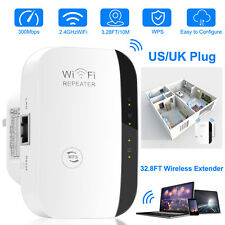 300Mbps Wifi Repeater Wireless 802.11b/g/n Router Extender Signal Booster Rang