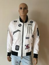 The New Designers by Alexander Pap Bomber Jacket White Size XL