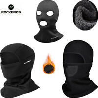 ROCKBROS Winter Sports Warm Face Mask Cycling Fleece Caps Outdoor Headgear