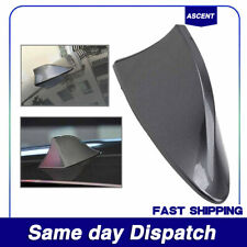 1x Car Shark Fin Roof Antenna Aerial FM/AM with Radio Signal Decor Gray ABS NEW