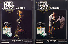 5th Annual Chicago Kool Jazz Festival, 1983 - original poster