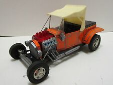 VINTAGE ALPS JAPAN TIN BATTERY OPERATED HOT ROD CUSTOM T FORD ***EXCELLENT***