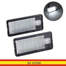 2x 18LED LUCES DE MATRICULA LED REEMPLAZO  para Audi A3 S3 A4 A6 B6 B7 Q7