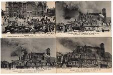 """Lot de 124 CPA de REIMS collection """"Campagne de 1914"""" de Jules Matot n° 1 à 125"""