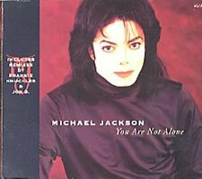 Michael Jackson you are not alone (1995, #6623102, incl. remixé by FR [Maxi-CD]