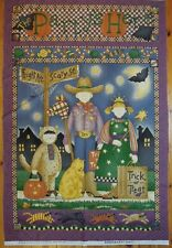Debbie Mumm, Stoffpanel für Wandbehang, Halloween, Patchwork