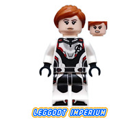 LEGO Black Widow jumpsuit - Marvel Avengers minifigure sh571 FREE POST