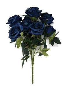 Buy Artificial Flower Arrangements Blue Ebay