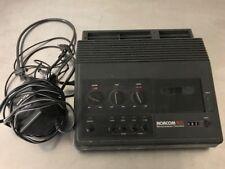 Norcom 905 Minicassette Transcriber w/ Headphones Microprocessor Controlled