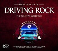 Greatest Ever DRIVING ROCK 2013 3-CD box set NEW/SEALED Kiss Motorhead Blink 182