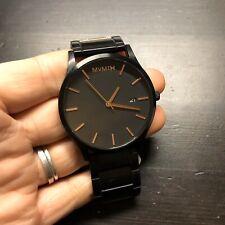 MVMT Classic Watches   45 MM Men's Analog Minimalist Watch (Black Rose Ceramic)