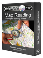 Map Reading Orienteering Compass Guide Training Course PC CD