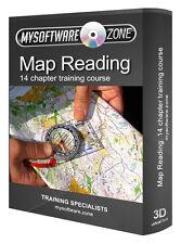 Map Reading Land Navigation & Orienteering Training Course CD Equipment Terrain