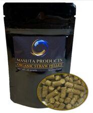 ORGANIC STRAW PELLET Aquarium Shrimp food Masuta Products 25 grams straw pellet