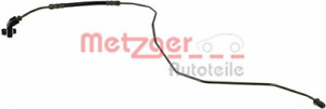 Bremsschlauch METZGER 4119367 hinten für AUDI SEAT SKODA VW