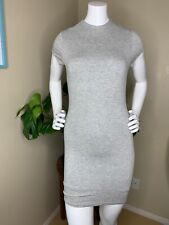 NWT Forever 21 Juniors Gray Fitted Dress Size Small