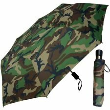 UmbrellaBazaar Wholesale Auto Mini Camo Umbrella (Pack of 6)