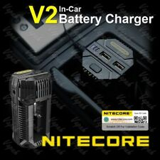 NITECORE V2 Speedy 6A In-Car Vape Battery Charger 14500 18650 20700 21700 26650