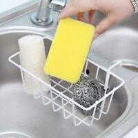 Dish Cleaning Drying Sponge Holder Kitchen Sink Organiser Hanging Stable N7O6